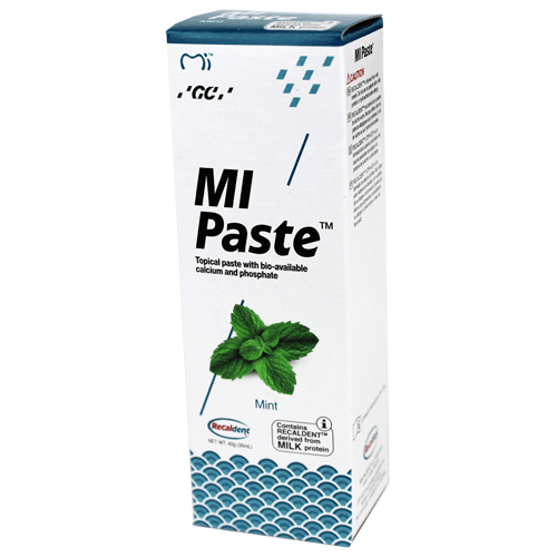 Buy MI Paste with Recaldent 40 Gram Tube Mint Flavor by GC America online | Mountainside Medical Equipment