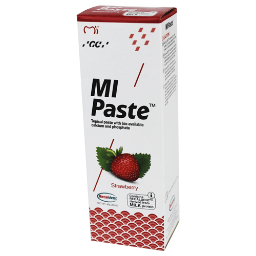 Buy Strawberry MI Paste with Recaldent by GC America online | Mountainside Medical Equipment