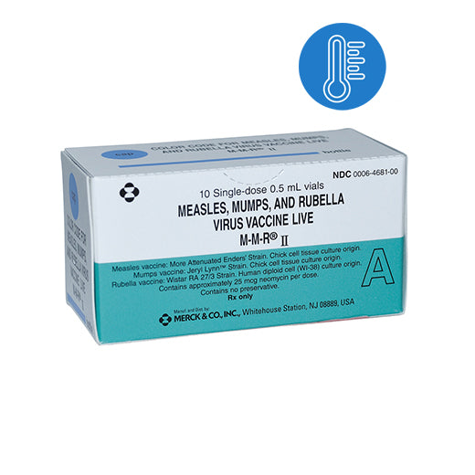 Buy MMR Measles, Mumps, and Rubella Virus Vaccine, 10 Doses (Ships Cold) online used to treat MMR Vaccine - Medical Conditions