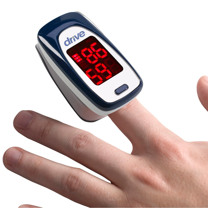 Finger Pulse Oximeter Easy-Slide - Finger Pulse Oximeter - Mountainside Medical Equipment