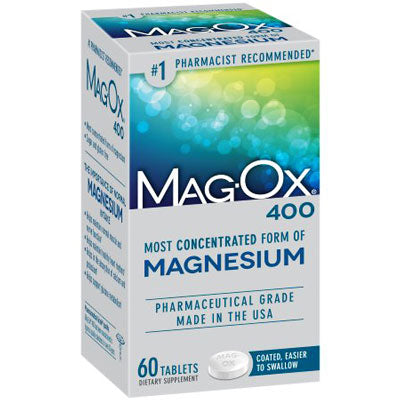 Buy Mag-Ox 400 Magnesium Dietary Supplement Tablets online used to treat Magnesium Supplement - Medical Conditions