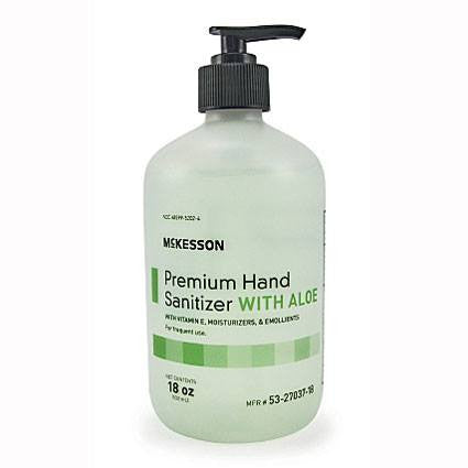 Buy McKesson Premium Moisturizing Hand Sanitizer with Vitamin E, Aloe online used to treat Instant Hand Sanitizer - Medical Conditions