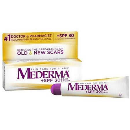 Buy Mederma Scar Cream Plus SPF 30 online used to treat Skin Care - Medical Conditions
