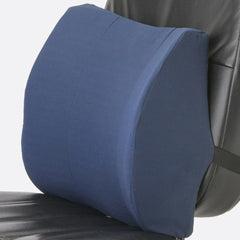 Buy Medical Lumbar Support Cushion with Strap, Blue by Briggs Healthcare/Mabis DMI | SDVOSB - Mountainside Medical Equipment