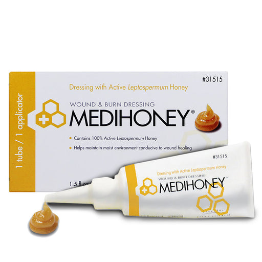 Medihoney Hydrocolloid Wound Fill Paste 44 mL tube - Hydrocolloids - Mountainside Medical Equipment