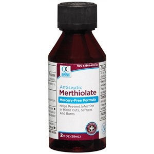 Buy Merthiolate First Aid Antiseptic 2 oz by Quality Choice | SDVOSB - Mountainside Medical Equipment