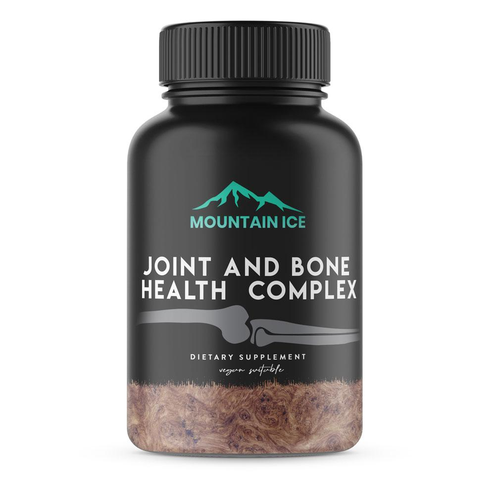 Mountain Ice Bone and Joint Health Complex, 60 Count - Bone Health - Mountainside Medical Equipment