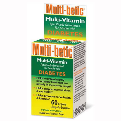 Multi-betic Multivitamin Specifically for Diabetics