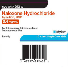 Buy Mylan Naloxone Hydrochloride for Injection 1 mL, 10/Box online used to treat Naloxone for Injection - Medical Conditions
