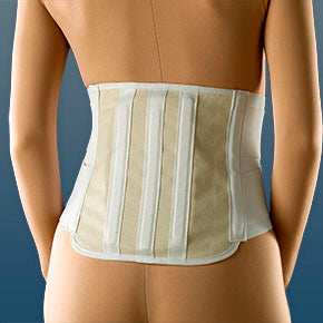 Buy Lumbosacral Back Brace Support with Dual Compression Double Padding online used to treat Lumbosacral Back Brace - Medical Conditions