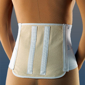 Lumbosacral Back Brace Elastic Support with Dual Compression Steels - Lumbosacral Back Brace - Mountainside Medical Equipment