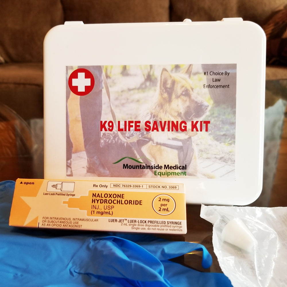 K9 Naloxone kit to Treat Dog Overdoses (Dog Life Saving Kit)