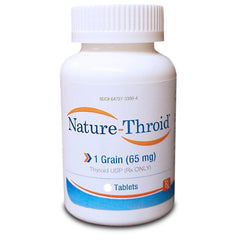 Buy Nature-Thyroid Hormone Replacement Therapy Tablets 1 grain 65 mg online used to treat Thyroid Hormone Replacement Therapy - Medical Conditions