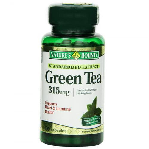 Buy Green Tea Extract 315 mg, 100 Count by Nature