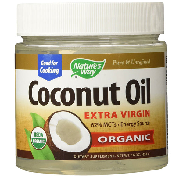 Nature's Way Coconut Oil Extra Virgin Organic Supplement, 16 oz