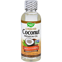Buy Nature's Way Liquid Coconut Oil Premium Great for Cooking, 10 oz online used to treat Coconut Oil - Medical Conditions