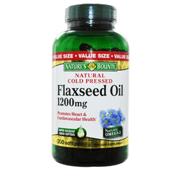 Buy Nature's Bounty Flaxseed Oil, 1200mg online used to treat Vitamins, Minerals & Supplements - Medical Conditions