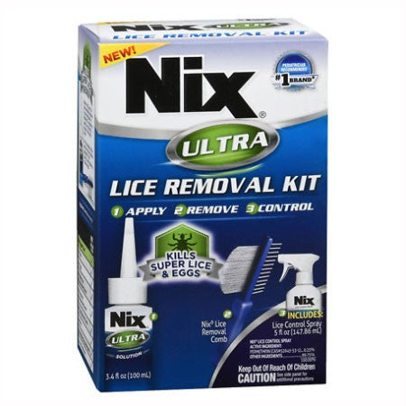 Nix Ultra Lice Removal Kit with Permethrin 0.25%