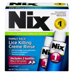 Buy Nix Lice Treatment Kit Family Pack by Insight Pharmaceuticals LLC | Lice Treatment Products
