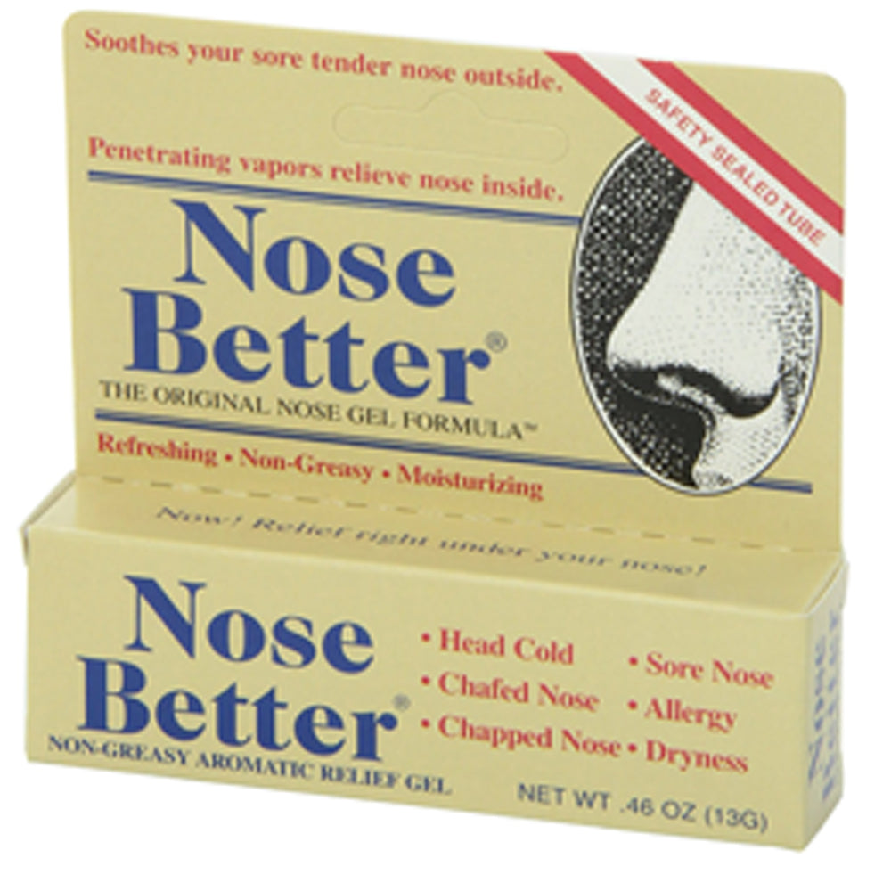 Buy Nose Better Dry Nose Relief Gel, 0.46 oz Tube online used to treat Nasal Moisturizing Gel - Medical Conditions