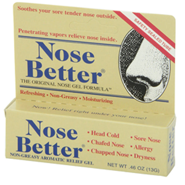 Nose Better Dry Nose Relief Gel, 0.46 oz Tube