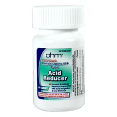 Buy Ranitidine 75 Acid Reducer 30/box by Ohm Laboratories from a SDVOSB | Heartburn