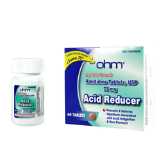 Buy Ranitidine 75 Acid Reducer 30/box by Ohm Laboratories wholesale bulk | Heartburn