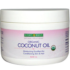 Buy Organic Coconut Oil Moisturizing Emollient for Skin & Hair by Nature's Bounty from a SDVOSB | Dry Skin