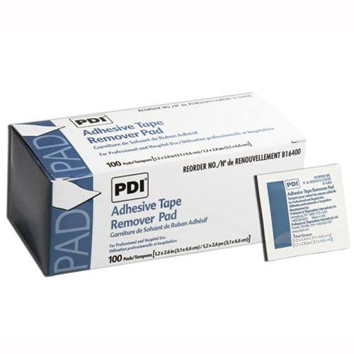 Adhesive Tape Remover Pads 100/Box for Adhesive Bandages by PDI | Medical Supplies