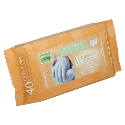 Gentle Hypoallergenic Disposable Cloth Baby Wipes, 960/Case