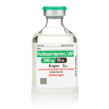 Paclitaxel for Injection 300mg, 50 mL