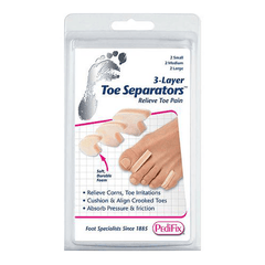 Buy PediFix 3 Layer Toe Separators online used to treat First Aid Supplies - Medical Conditions