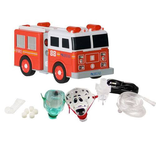 Buy Pediatric Fire Truck Nebulizer Machine Compressor online used to treat Nebulizer Machines - Medical Conditions