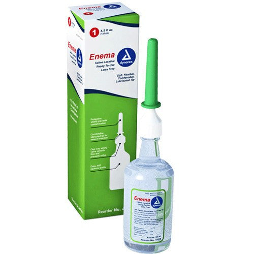 Buy Phosphate Enema Saline Laxative with Soft, Lubricated Tip by Dynarex online | Mountainside Medical Equipment