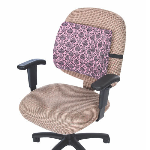 Buy Lumbar Support Cushion Pillow, Pink Damask online used to treat Lumbar Cushions - Medical Conditions