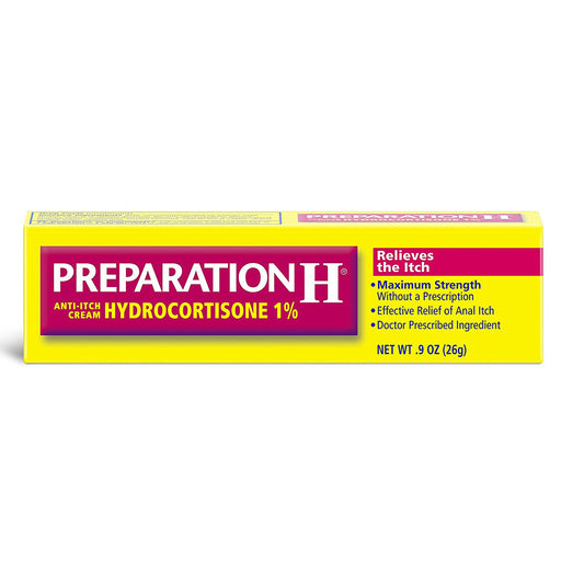 Buy Preparation H Anti Itch Cream with Hydrocortisone online used to treat Hemorrhoid Relief - Medical Conditions