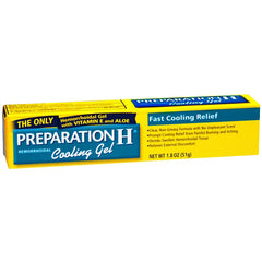 Buy Preparation H Hemorrhoidal Cooling Gel with Vitamin E & Aloe Vera 1.8 oz online used to treat Hemorrhoid Relief - Medical Conditions