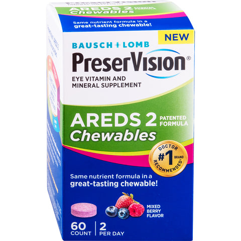 PreserVision AREDS 2 Chewables Eye Vitamin and Mineral Supplement