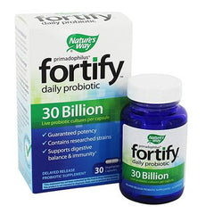 Buy Fortify Daily Probiotic 30 Billion, (7 Active Culture Strains), 30 Bottle online used to treat Probiotic - Medical Conditions