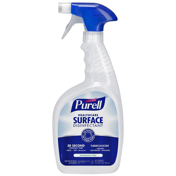 Purell Healthcare Surface Disinfectant Cleaner Spray 32 oz, 6/Case
