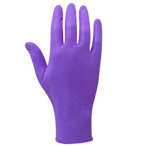 Buy Nitrile Gloves Powder Free (Purple) by Tillotson Healthcare wholesale bulk | Disposable Gloves