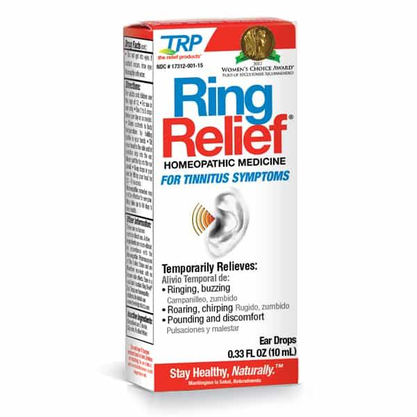 Ringing Ear (Tinnitus) Relief Drops
