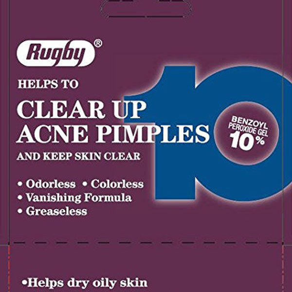Buy Rugby Benzoyl Peroxide Acne Medicine Lotion 10% online used to treat Acne Medicine - Medical Conditions