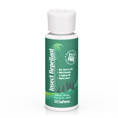 Insect Repellant with Citronella & Soybean, Deet Free for Insect Bites by Safetec | Medical Supplies