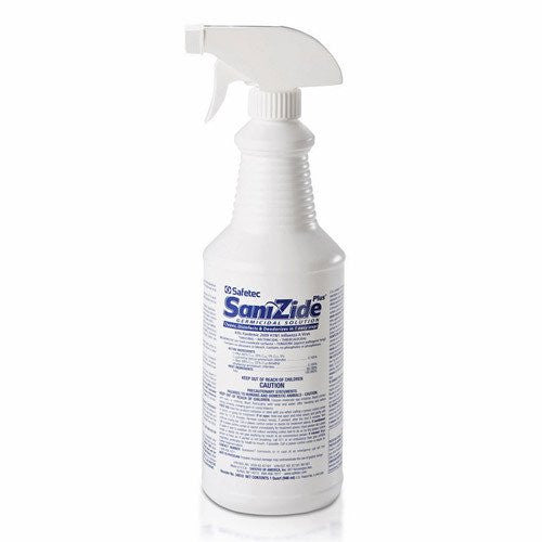 Buy Safetec SaniZide Plus Disinfectant Spray 32 oz by Safetec online | Mountainside Medical Equipment
