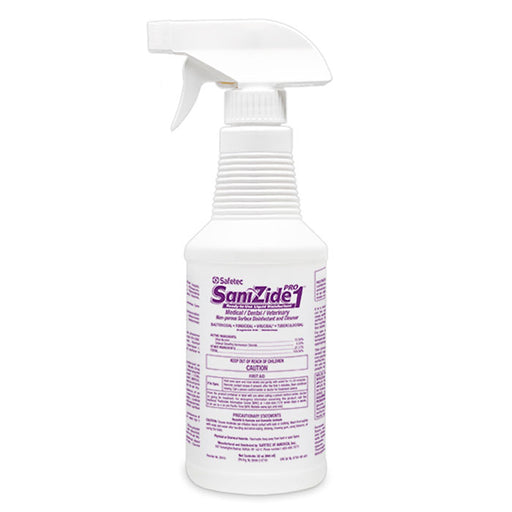 SaniZide Pro 2-Minute Surface Disinfectant Spray 32 oz Hospital-Grade - Disinfectant Spray - Mountainside Medical Equipment