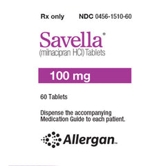 Buy Savella Tablets 100 mg online used to treat Nerve Pain Medication and Antidepressant - Medical Conditions