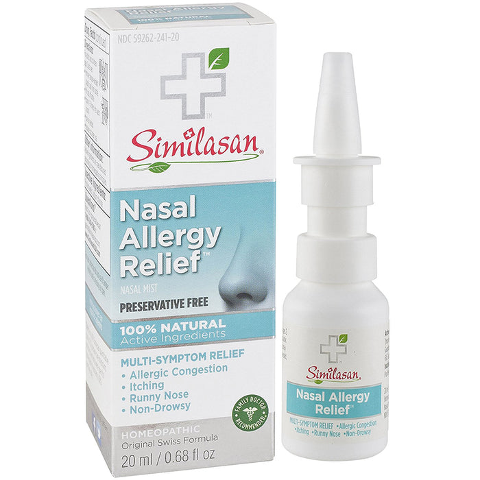 Buy Similasan's Nasal Allergy Relief Mist Spray online used to treat Allergy Relief Spray - Medical Conditions