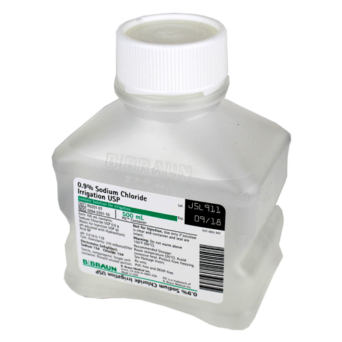 Buy Sodium Chloride 0.9%, Irrigation Solution, 500ml online used to treat  Irrigation Solution