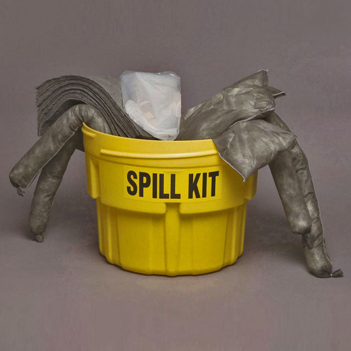 Spill Control Containment Kit 20 Gallon Universal Sorbent Spill Kit - Spill Kits - Mountainside Medical Equipment